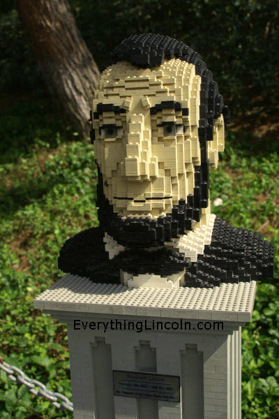 Abraham Lincoln at LEGOland