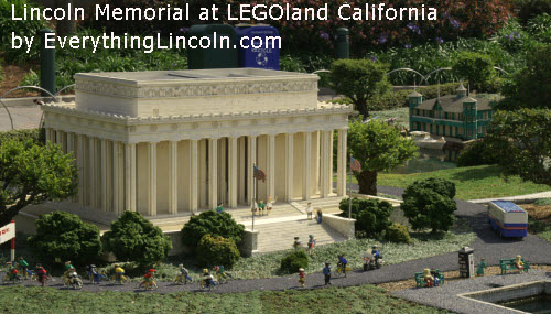 Lincoln Memorial from LEGO