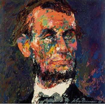 Abraham Lincoln by LeRoy Nieman