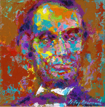 Homage to Lincoln by LeRoy Neiman