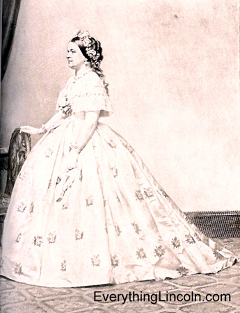 Mary Todd Lincoln at the White House