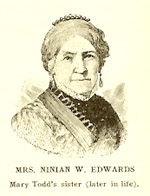 Elizabeth Todd Edwards, wife of Ninian Edwards