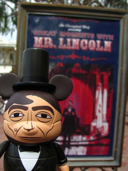 Abe Lincoln In Disney Vinylmation
