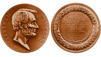 2009 Lincoln Bronze medal obverse reverse