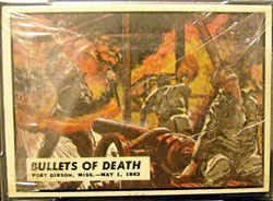 1962 Topps Civil War News cello pack